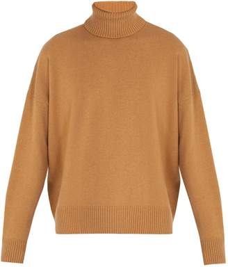 Ami Oversized roll-neck sweater
