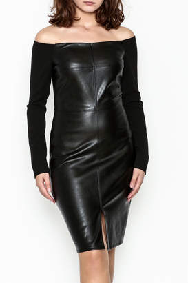 Do & Be Faux Leather Dress