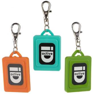 "Lisa Jenks Utility ID"" Set of 3 Colored Charms"