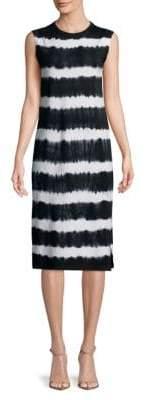 C&C California Tie Dyed Knee-Length Dress