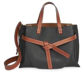 Loewe Soft Grained Leather Gate Tote
