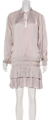 Ulla Johnson Satin Mini Dress