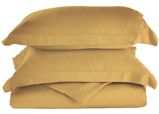 Impressions Superior 300 Thread Count Rayon From Bamboo Solid Duvet Cover Set