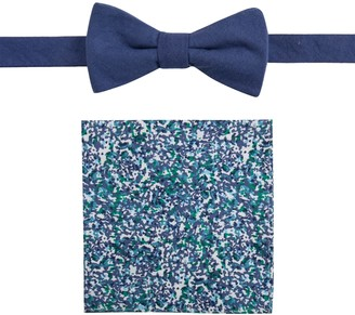 Apt. 9 Men's Glenburn Floral Bow Tie & Pocket Square Set