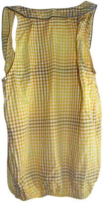 Sessun Yellow Cotton Top for Women