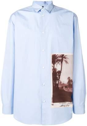 Oamc marrakech photo print shirt