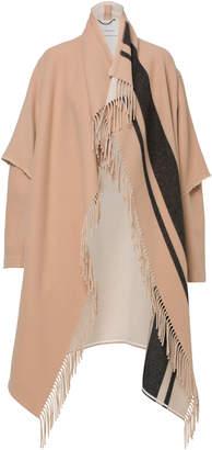 Schumacher Dorothee Cady Fringy Volume Jersey Coat