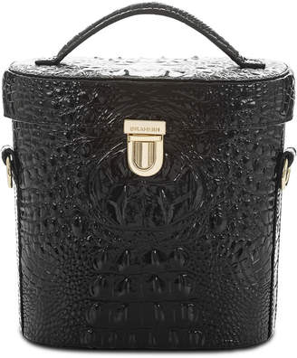 Brahmin Pipp Embossed Leather Crossbody