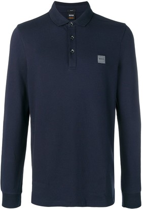 HUGO BOSS long sleeve polo shirt