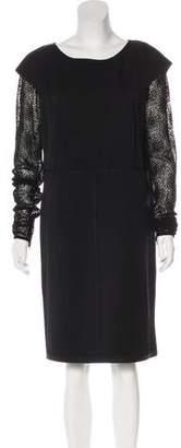 Bottega Veneta Layered Knee-Length Dress