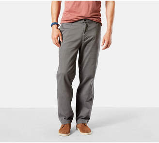 Dockers Classic Fit Washed Khaki Pants D3