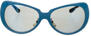 VersaceVersace Reflective Oversize Sunglasses
