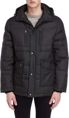 Ookpik Down Hooded Quilted Coat
