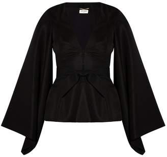 Saint Laurent Kimono Sleeve Top