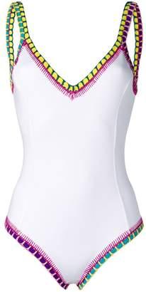 Kiini Yaz scoop-back swimsuit
