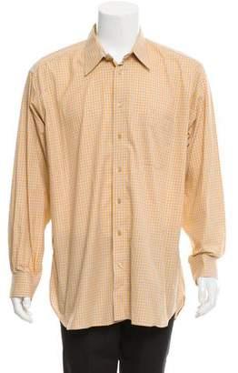 Burberry Gingham Woven Shirt