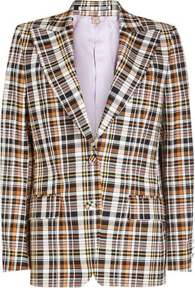 Burberry Snowhill Printed Cotton Blazer