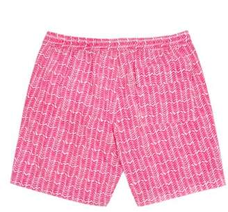 Psycho Bunny Drippy Diamond Swim Trunks