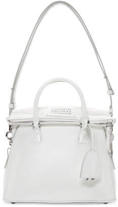 Maison Margiela White Medium Patent 5AC Bag
