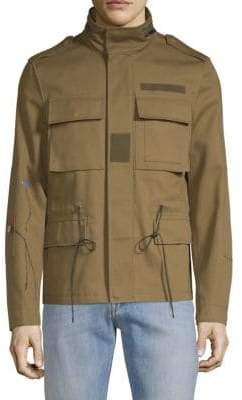 Valentino Caban Bamboo Cotton Jacket