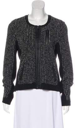 Rag & Bone Collarless Knit Blazer