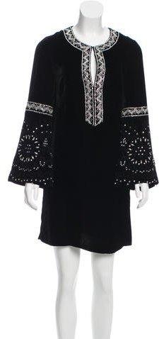 Emilio PucciEmilio Pucci Embellished Velvet Dress