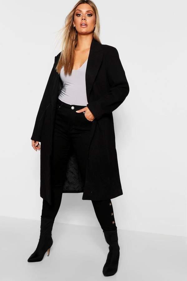 Plus Daisy Longline Formal Coat