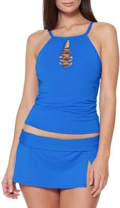 Bleu By Rod Beattie 2-Piece Tankini Top Skirt