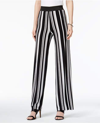 Alfani Striped Palazzo Pants, Only at Macy's $59.50 thestylecure.com