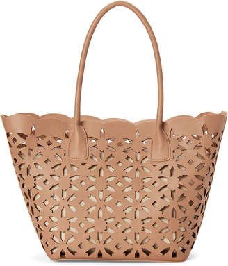 Moda Luxe Natural Goddess Laser Cut Bag-in-Bag Tote