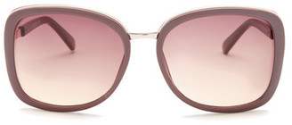 Kenneth Cole Reaction Women&s Oversized Sunglasses $50 thestylecure.com