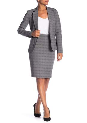 Amanda & Chelsea Glenn Plaid Pencil Skirt
