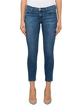 J Brand Low Rise Crop Skinny- Super Soft Comfort Stretch