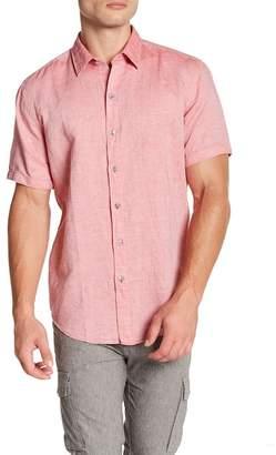 BOSS Robb Short Sleeve Sharp Fit Shirt
