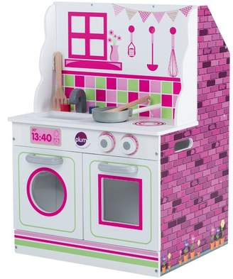 Plum 2 in 1 Mini Doll's House & Kitchen