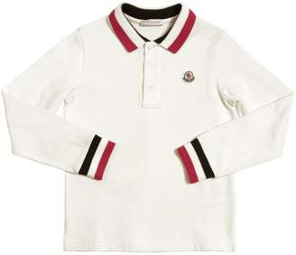 Moncler Cotton Piquet Polo