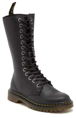 Dr. Martens Luana Tall Leather Lace-Up Boot