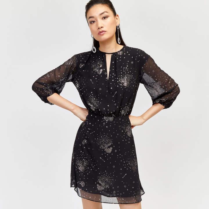 Sparkle Star Tie Back Dress