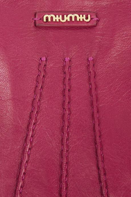 Miu Miu Leather gloves