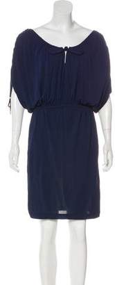 Temperley London Short Sleeve Mini Dress
