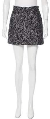 Balenciaga Matelassé Mini Skirt