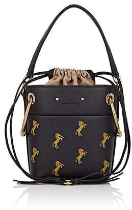 Chloé Women's Roy Small Leather Bucket Bag