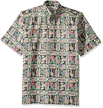 Reyn Spooner Men's Summer Commemorative Spooner Kloth Classic Pullover Shirt