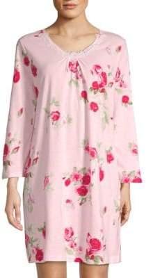 Carole Hochman Floral-Print Nightgown