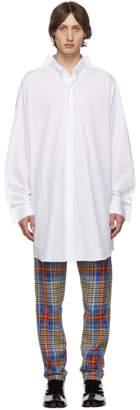 Maison Margiela White Long Shirt