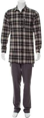Skingraft Plaid Button-Up Shirt