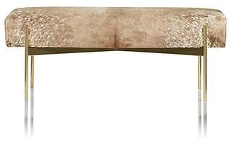 Barneys New York Aria Hair-On-Hide Bench