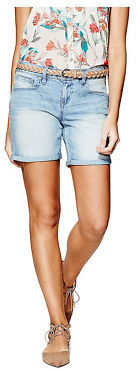 GByGUESS G By Guess Women's Talila Denim Bermuda Shorts $44.99 thestylecure.com