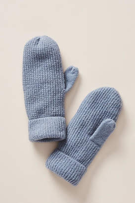 Anthropologie Virginia Ribbed Mittens