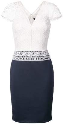 Tadashi Shoji crochet lace top dress